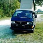 VW Bus T3 von vorne